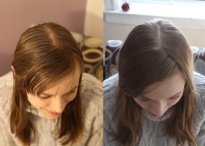 Bicarbonato de sodio para el cabello tenido