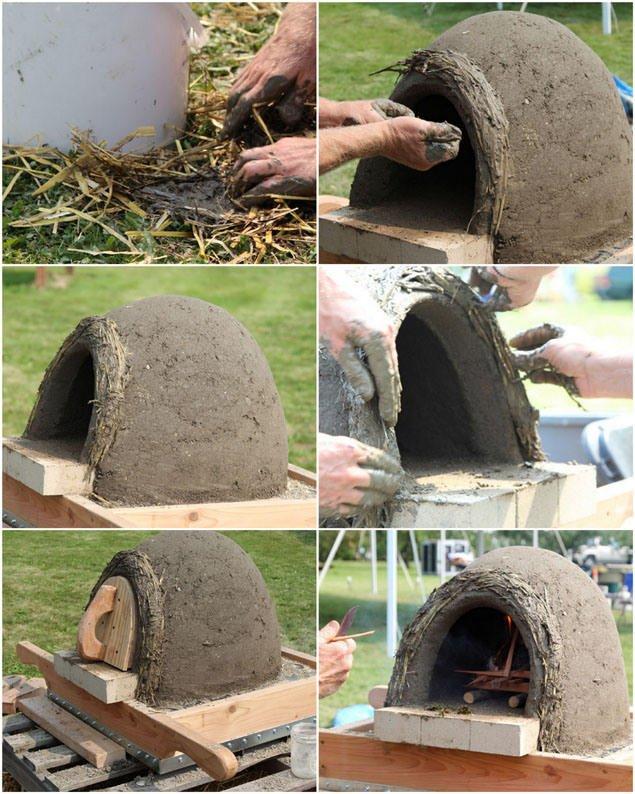 Haz un horno de le a casero taringa - Horno de piedra casero ...
