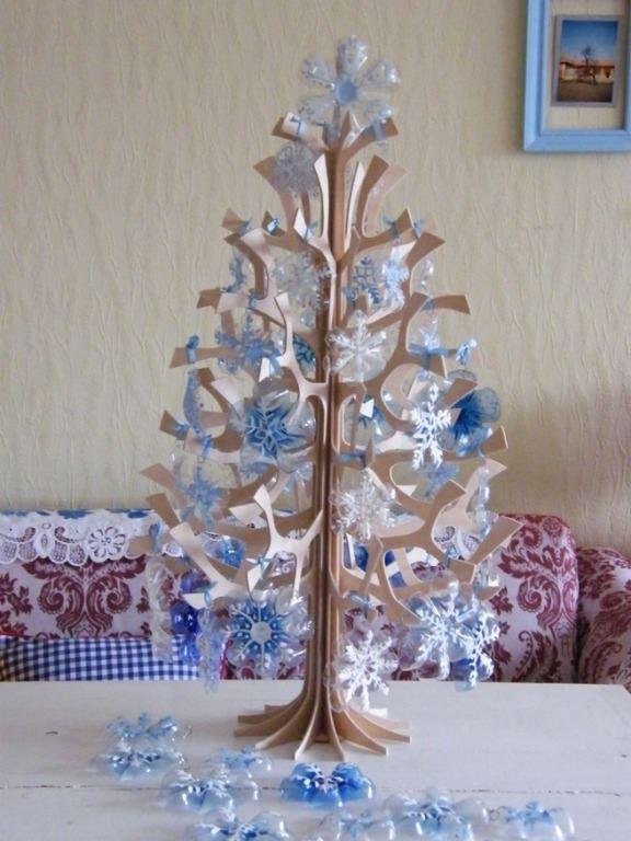 20 Adornos Navidenos Reciclados Para Tu Arbol De Navidad - Adornos-de-navidad-reciclados-como-hacerlos