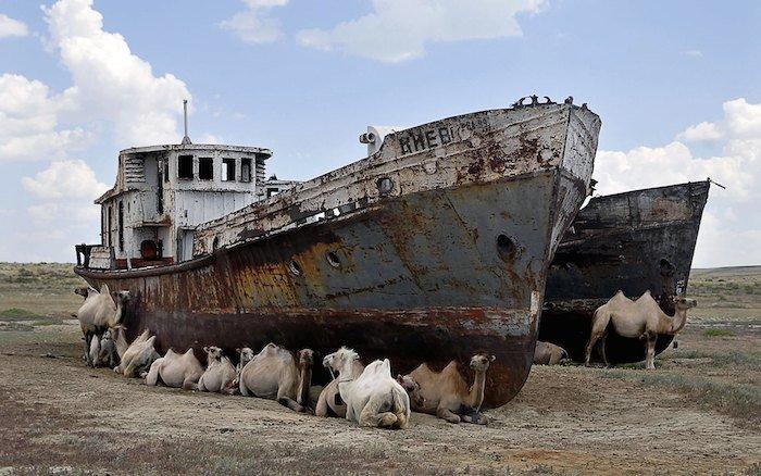 Resultado de imagen de El mar de Aral