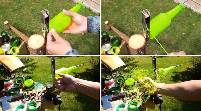 Como convertir botellas de plástico en cuerda