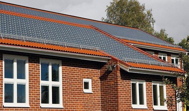 Tejas solares de vidrio 3