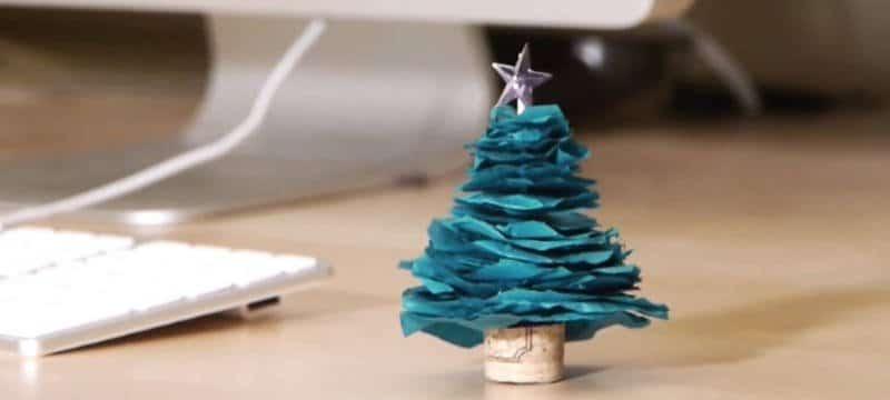 Como hacer un rbol de navidad casero - Hacer arbol de navidad original ...