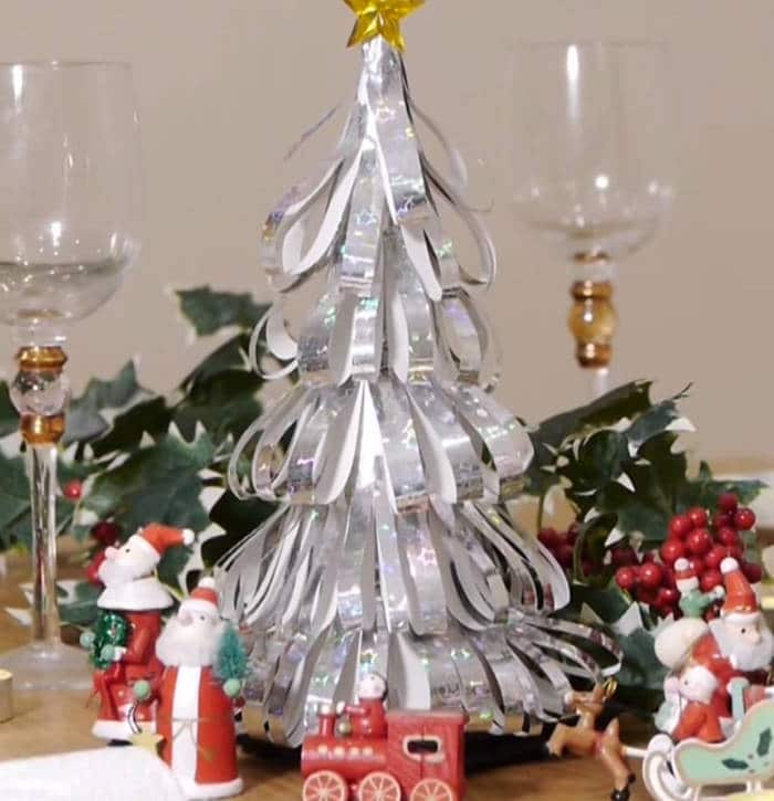 Como hacer un rbol de navidad casero for Adornos para arbol de navidad caseros