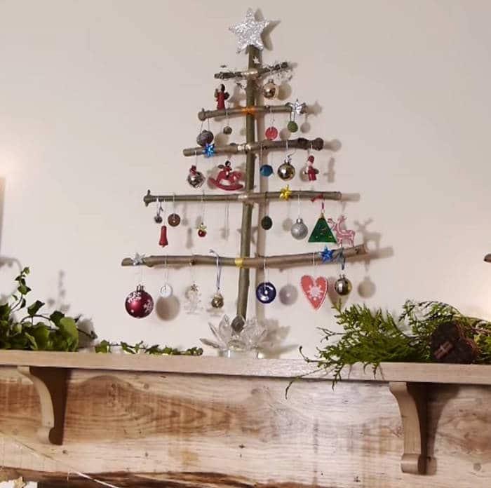 Como hacer nuestro propio árbol de navidad casero