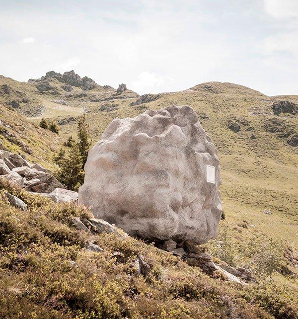 Antoine: la cabaña que quería ser roca
