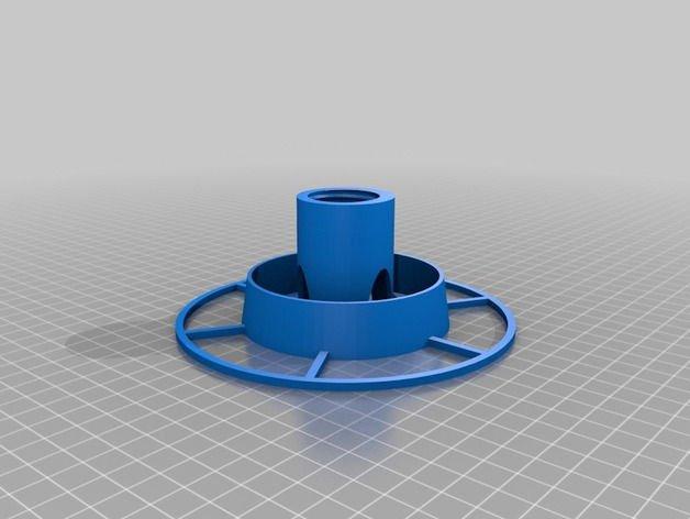 Comedero para pajaros base 3D