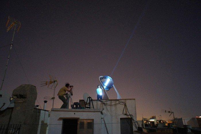 Esferas solares que generan energía incluso con la luna