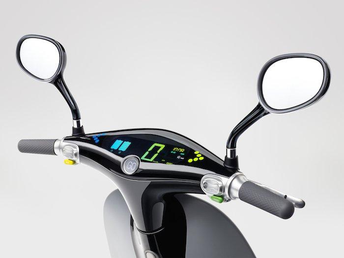 Gogoro Scooter eléctrico detalle