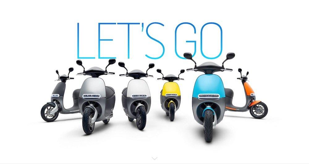Gogoro. Scooter eléctrico con batería extraible