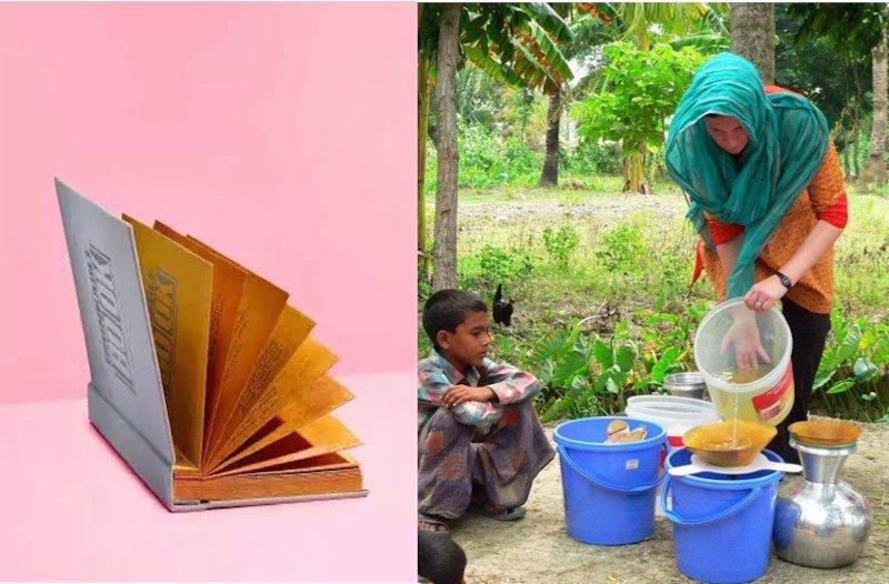 Drinkable Book, el primer libro cuyas hojas purifican el agua