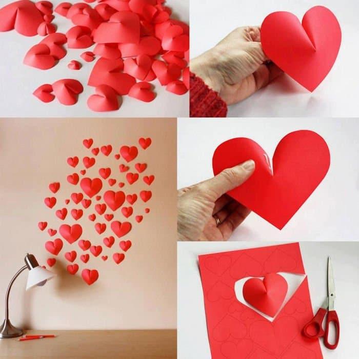 corazones decorativos para el dia de los enamorados