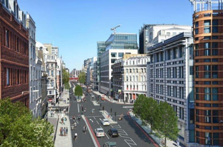 La primera autopista para bicicletas de Europa en Londres