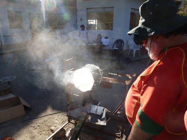Tostador solar cafe Peru