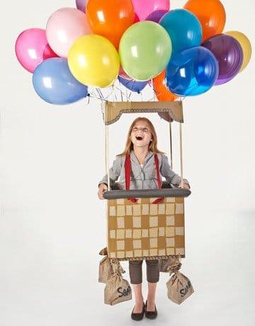 disfraz casero de globo