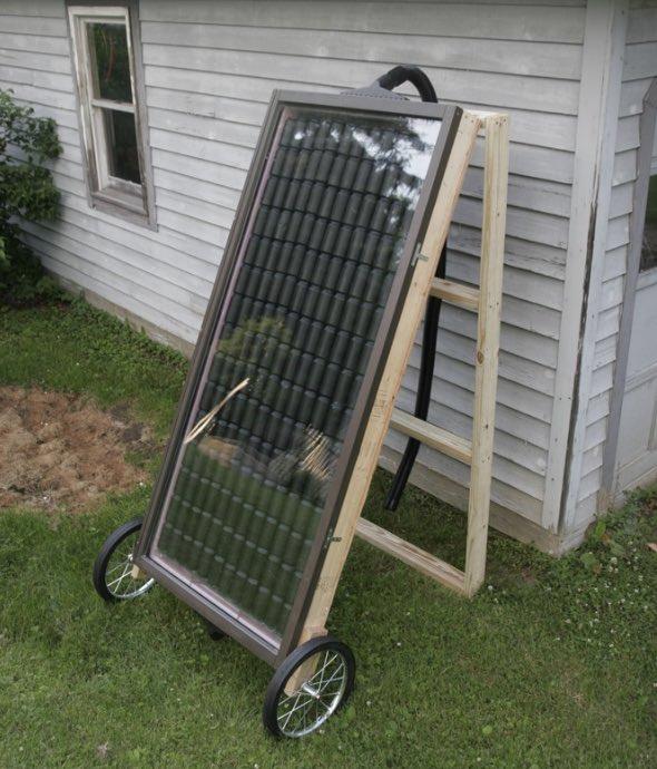 Calefacción Solar casera v2