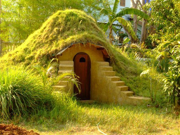 Como construir un domo con sacos de tierra1