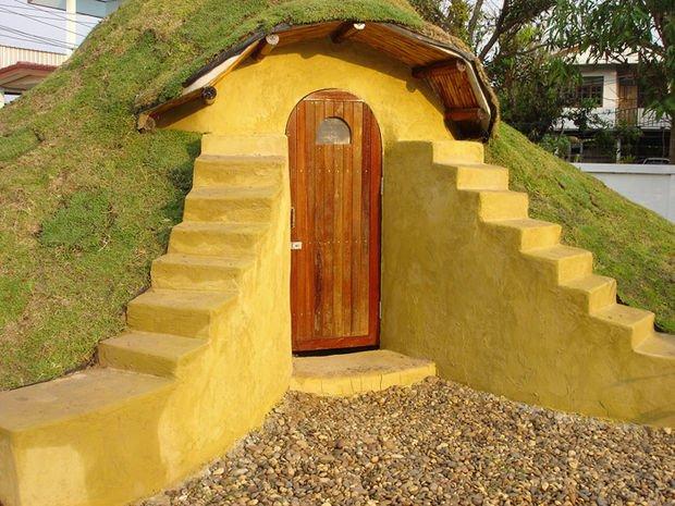 Como construir un domo con sacos de tierra99