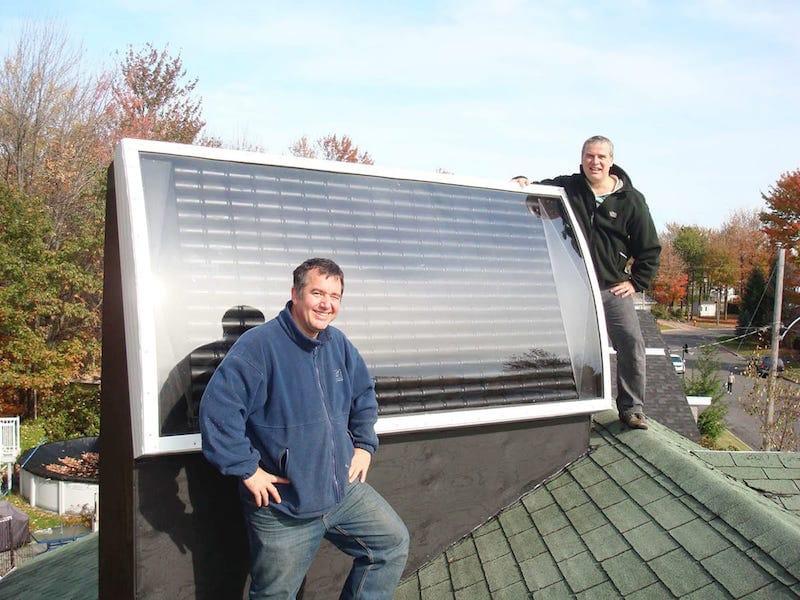 Cómo fabricar un calentador de aire solar para caldear tu vivienda