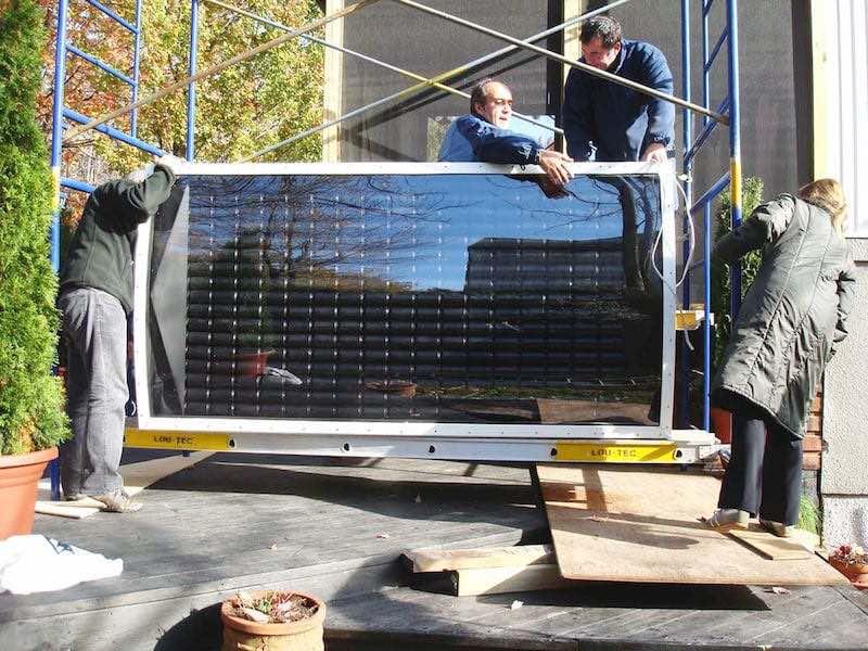 Como hacer una calefacción solar casera11
