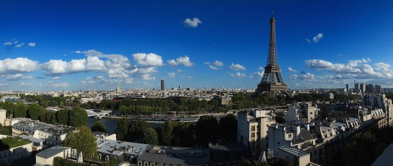 Paris tejados verdes