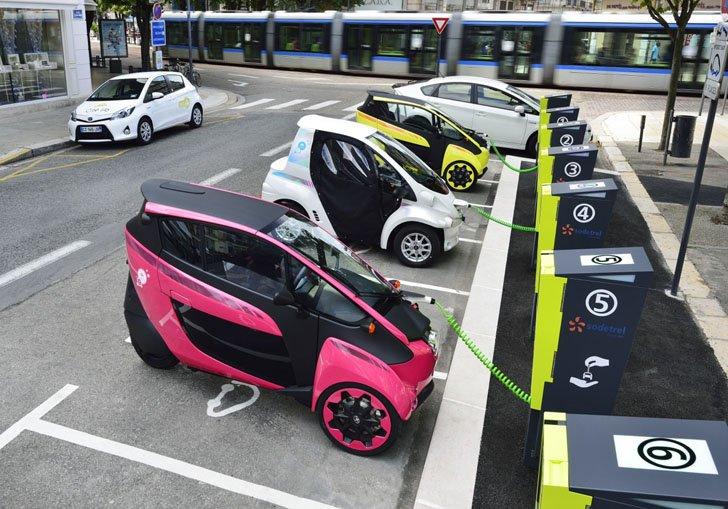 Toyota i-ROAD4