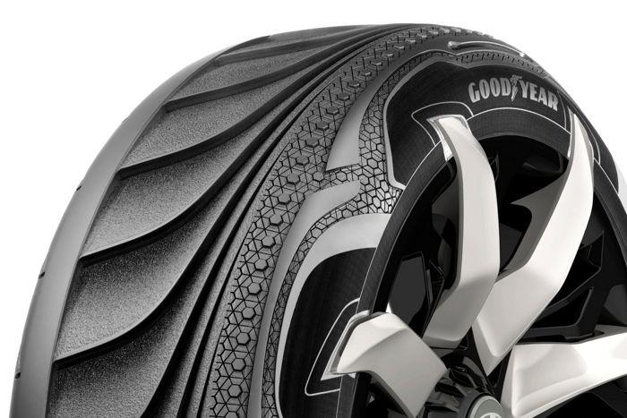 Una neumático de Goodyear capaz de generar electricidad