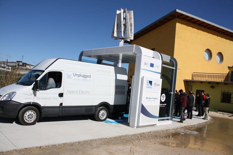 Unplugged Carga inductiva para vehículos eléctricos