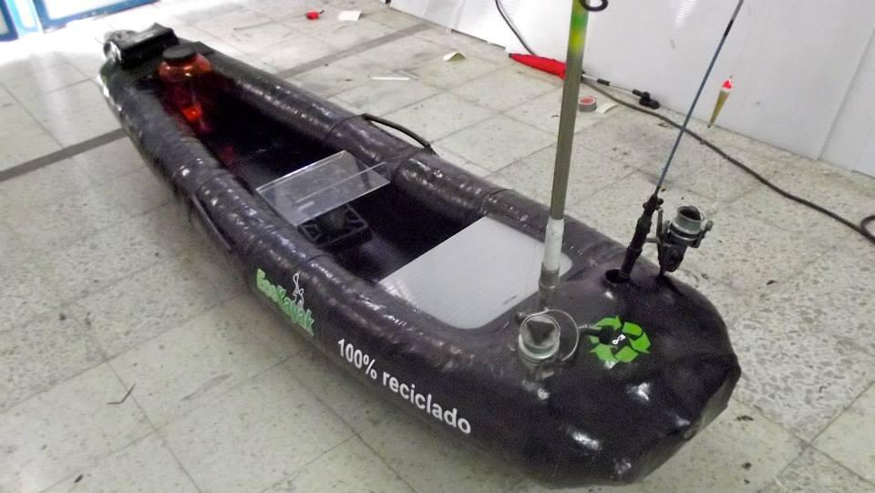 Como hacer un Kayak reciclando botellas de plástico