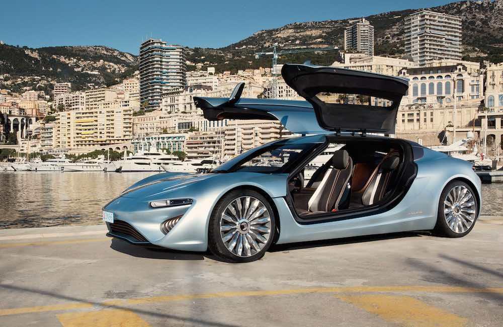 nanoFlowcell Quantino, prototipo de coche eléctrico que funciona con agua salada