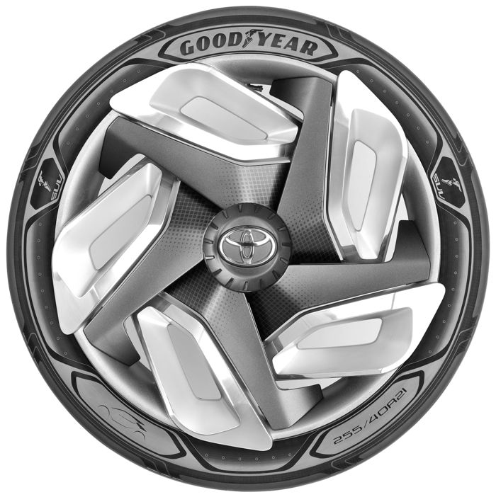 Neumático de Goodyear capaz de generar electricidad