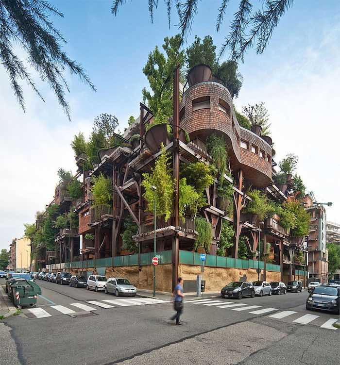 Vivir en un bosque vertical