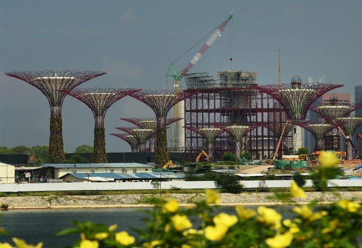 Arboles artificiales Singapur