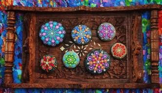 Cómo pintar piedras para crear coloridos Mandalas