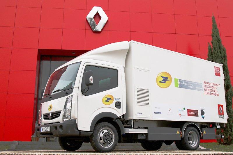 El primer camión de Europa con pila de combustible de hidrógeno