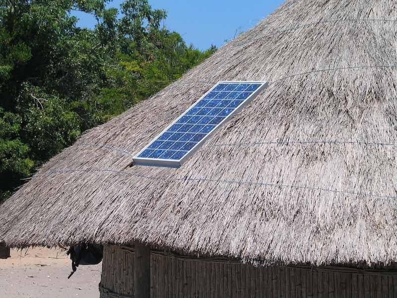 Energía solar Africa