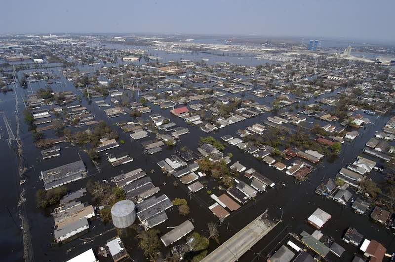 Inundación New Orleans