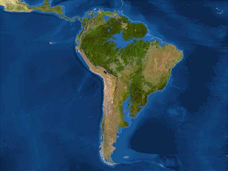 Inundaciones America del Sur