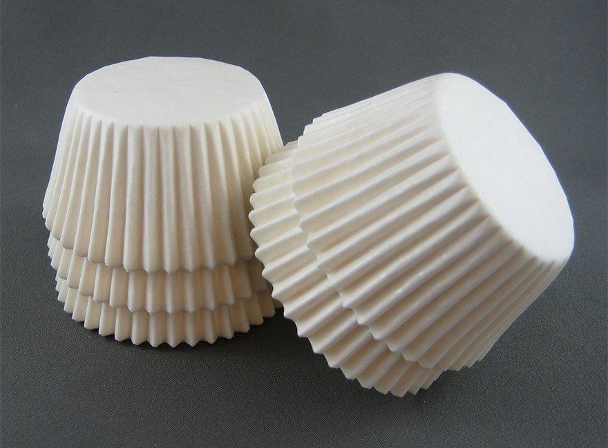 Lámpara con envoltorios de pastelitos