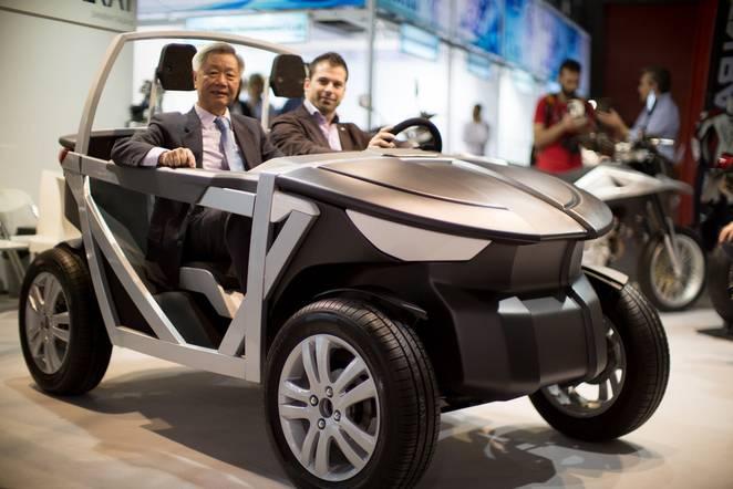 TABBY vehículo eléctrico DIY