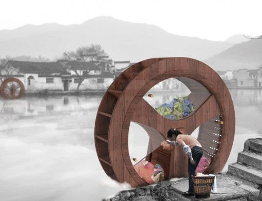 Water Wheel Washing Machine. La lavadora sin electricidad