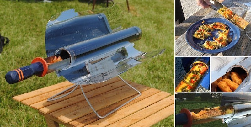 GoSun Stove. Cocina solar portable, sin electricidad