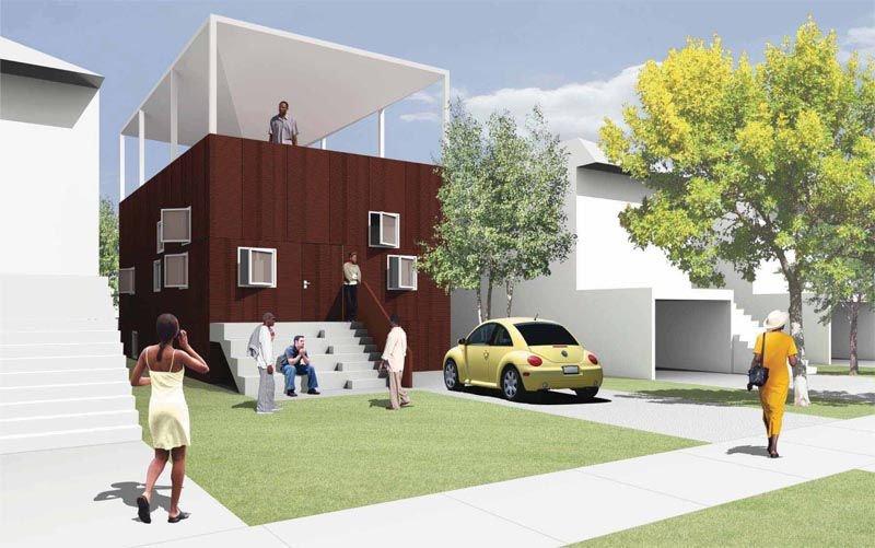 Adjaye-Design-Planos gratis de casas ecológicas