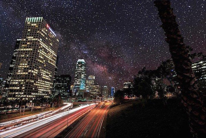 Así sería el cielo sin contaminación lumínica-1