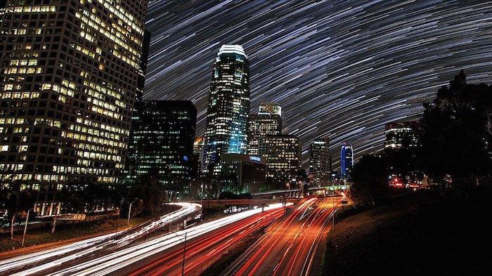 Así sería el cielo sin contaminación lumínica-8