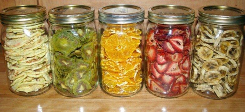 Cómo hacer fruta deshidratada en casa