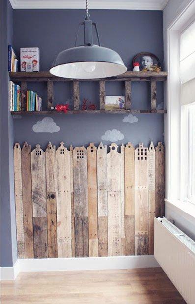 Decorar paredes de dormitorios con palets1
