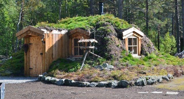 Disfruta de la naturaleza en una casita de un bosque Noruego