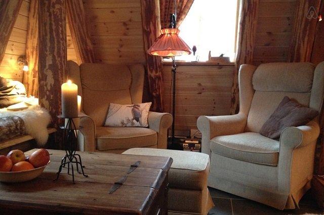 Disfruta de la naturaleza en una casita de un bosque Noruego2