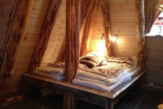 Disfruta de la naturaleza en una casita de un bosque Noruego5